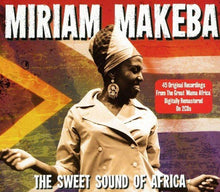 Load image into Gallery viewer, MIRIAM MAKEBA: SWEET SOUND OF AFRICA (2 CDS)