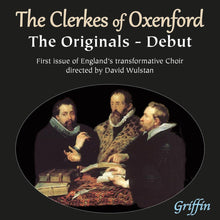 Load image into Gallery viewer, CLERKES OF OXENFORD - DEBUT: THE ORIGINALS