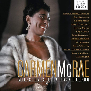 CARMEN MCRAE: MILESTONES OF A JAZZ LEGEND (10 CDS)