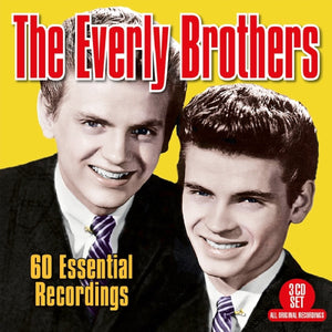 EVERLY BROTHERS: 60 Essential Recordings (3 CDs)