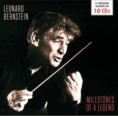 BERNSTEIN, LEONARD (10CD SET): Milestones Of A Legend