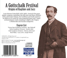 Load image into Gallery viewer, A GOTTSCHALK FESTIVAL - EUGENE LIST (3 CDS)
