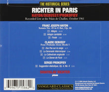 Load image into Gallery viewer, RICHTER IN PARIS - HAYDN, DEBUSSY, PROKOFIEV
