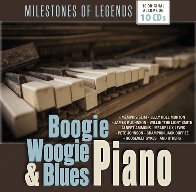 BOOGIE WOOGIE & BLUES PIANO (10 CDS)