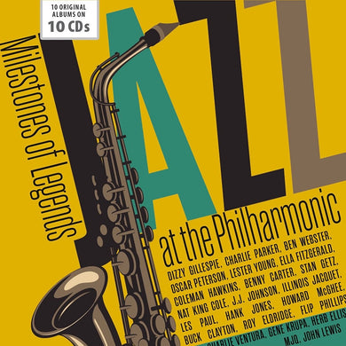 JAZZ AT THE PHILHARMONIC - MILESTONES OF JAZZ LEGENDS (10 CDS)