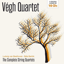 Load image into Gallery viewer, BEETHOVEN & BARTOK: THE COMPLETE STRING QUARTETS - VEGH QUARTET (10 CDS)