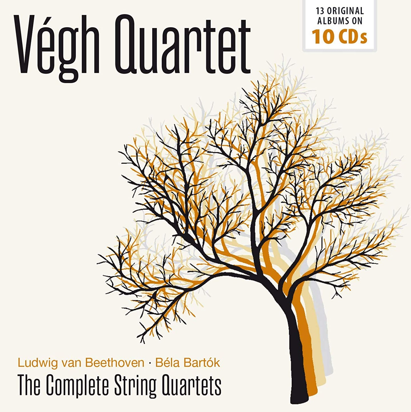 BEETHOVEN & BARTOK: THE COMPLETE STRING QUARTETS - VEGH QUARTET (10 CDS)