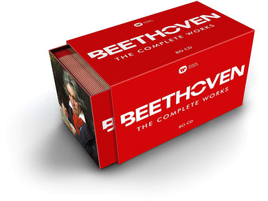 BEETHOVEN: THE COMPLETE WORKS (80 CDs)