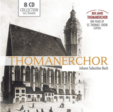 BACH: 800 YEARS OF THE ST. THOMAS CHOIR, Leipzig - MOTETS, CANTATAS, PASSIONS (8 CDS)