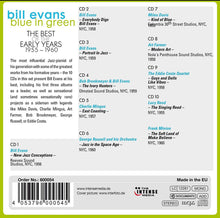 Load image into Gallery viewer, BILL EVANS: Blue In Green - The Best Of The Early Years 1955-1960 (10 CDs)