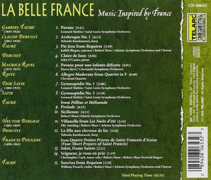 LA BELLE FRANCE: Music From and Inspired by France