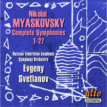 Load image into Gallery viewer, MYASKOVSKY: THE COMPLETE SYMPHONIES - RUSSIAN FEDERATION SYMPHONY ORCHESTRA, EVGENY SVETLANOV (14 CDs)