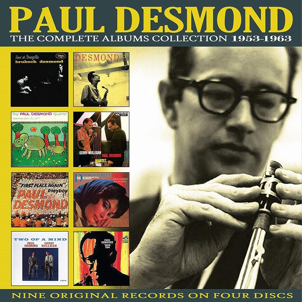 PAUL DESMOND: COMPLETE ALBUMS COLLECTION 1953-1963 (4 CDS)