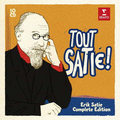 SATIE: THE COMPLETE WORKS (10 CDS)