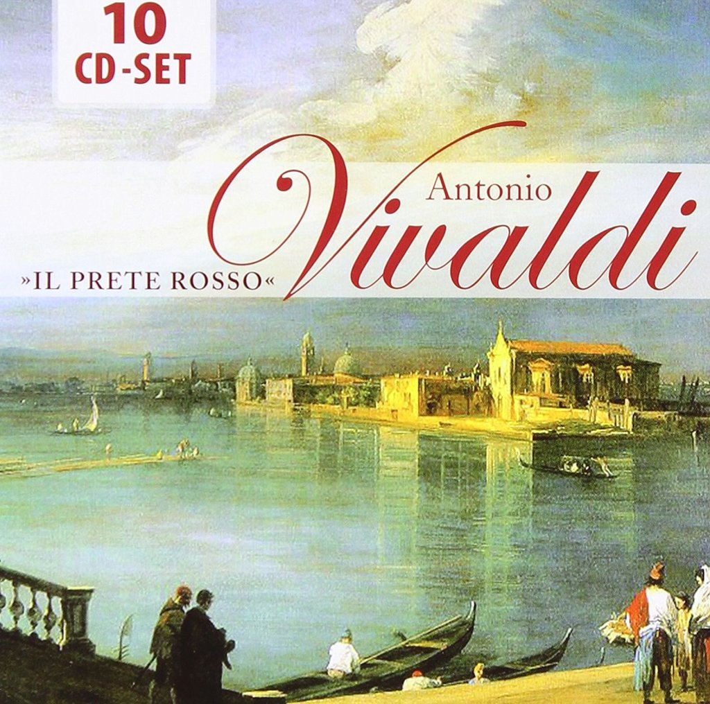 VIVALDI: IL PRETE ROSSO - THE GREATEST WORKS OF VIVALDI (10 CDS)