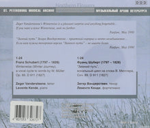 Load image into Gallery viewer, SCHUBERT: WINTERREISE - Zeger Vandersteene (tenor), Levente Kende (piano)