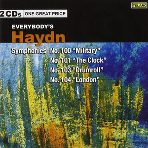 "Everybody's Haydn - Symphonies No. 100 ""Military,"" No. 101 ""The Clock,"" No. 103 ""Drumroll,"" & No. 104 (2 CDs)"
