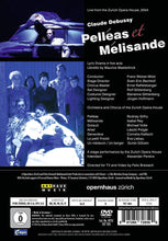 Load image into Gallery viewer, DEBUSSY: PELLEAS ET MELISANDE (2 DVD) - GILFRY; REY; VOLLE; ZURICH OPERA HOUSE; WELSER-MOST; BECHTOLF