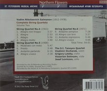 Load image into Gallery viewer, SALMANOV: COMPLETE STRING QUARTETS, VOLUME 2