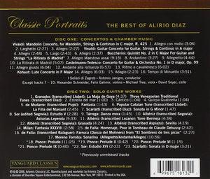 BEST OF ALIRIO DIAZ: CONCERTOS, CHAMBER MUSIC & VIRTUOSO SOLO GUITAR WORKS (2 CDS)