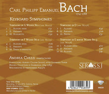 Load image into Gallery viewer, BACH, C.P.E.: Keyboard Symphonies - Andrea Chezzi (harpsichord)