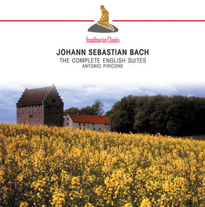 BACH: The Complete English Suites - Antonio Piricone (2 CDS)