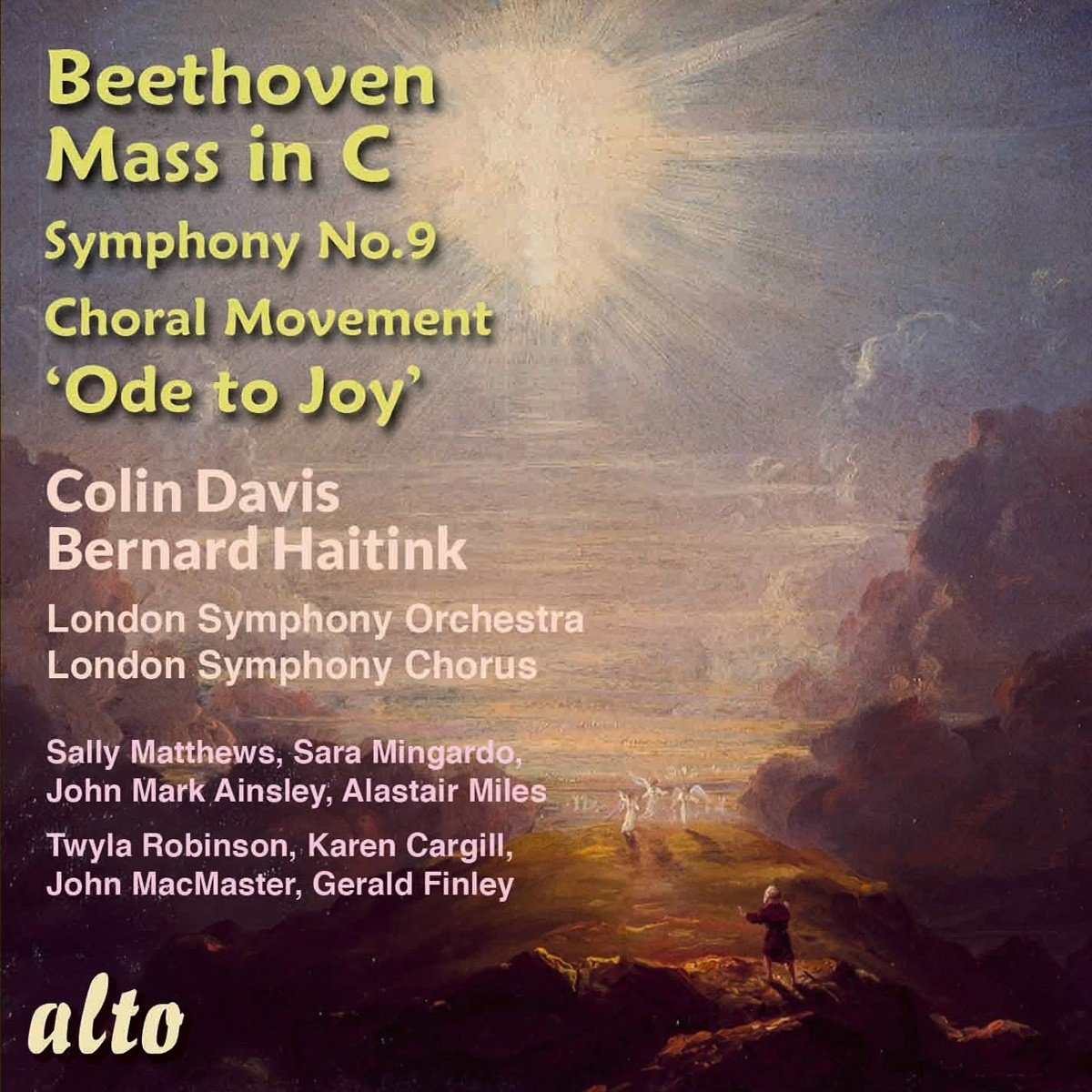 BEETHOVEN: MASS IN C;  ODE TO JOY - LONDON SYMPHONY, HAITINK