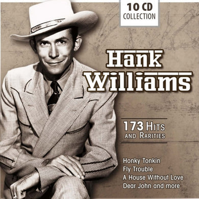 HANK WILLIAMS - MOVE IT ON OVER (10 CDS)