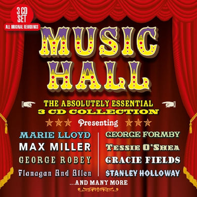 ENGLISH MUSIC HALL - THE ABSOLUTELY ESSENTIAL COLLECTION (3 CDS)