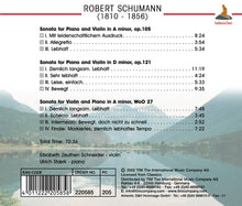Load image into Gallery viewer, SCHUMANN: Three Violin Sonatas - ZUETHEN-SCHNEIDER, STARK