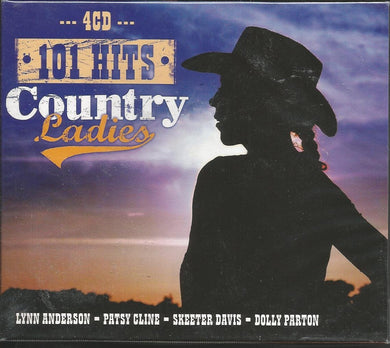 COUNTRY LADIES: Lynn Anderson, Patsy Cline, Skeeter Davis, Dolly Parton (4 CDS)