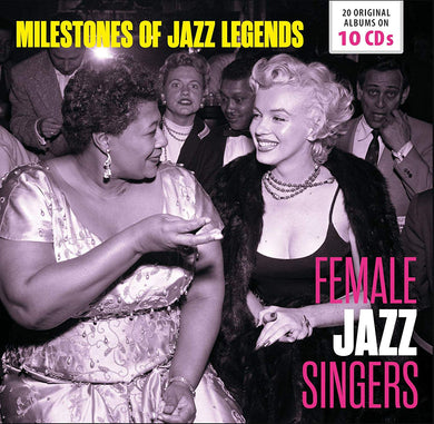 FEMALE JAZZ SINGERS: Sarah Vaughan,Dinah Washington,Chris Connor,Billie Holiday (10 CDS)