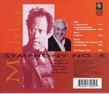 Load image into Gallery viewer, MAHLER: SYMPHONY NO. 5 - FARBERMAN, LONDON SYMPHONY ORCHESTRA