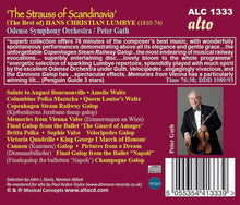 Load image into Gallery viewer, LUMBYE: THE STRAUSS OF SCANDANAVIA - ODENSE SYMPHONY