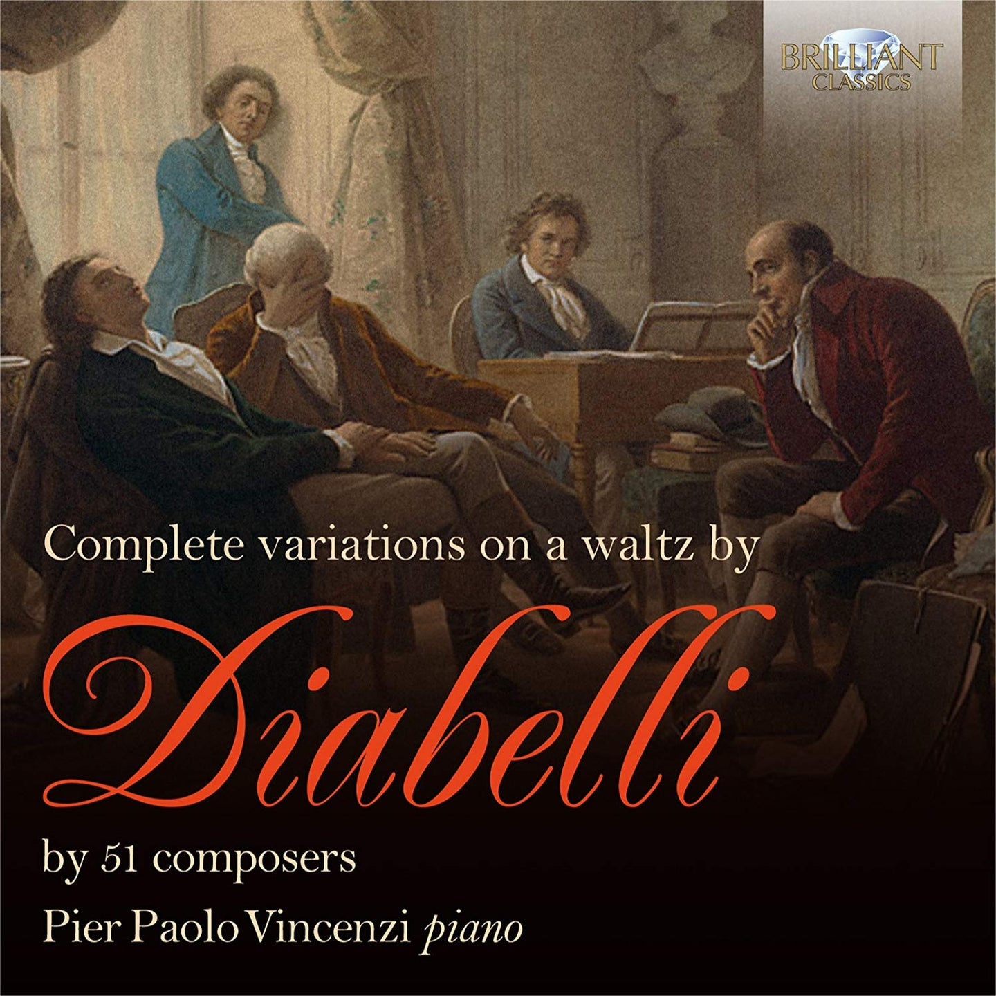 Complete Variations on a Waltz by Diabelli BY 51 Composers - Pier Paolo Vincenzi (2 CDS)