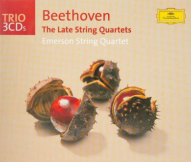 BEETHOVEN: THE LATE STRING QUARTETS - EMERSON STRING QUARTET (3 CDS)
