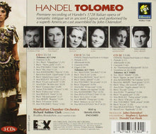 Load image into Gallery viewer, HANDEL: TOLOMEO - MANHATTAN CHAMBER ORCHESTRA, RICHARD AULDON CLARK (3 CDS)