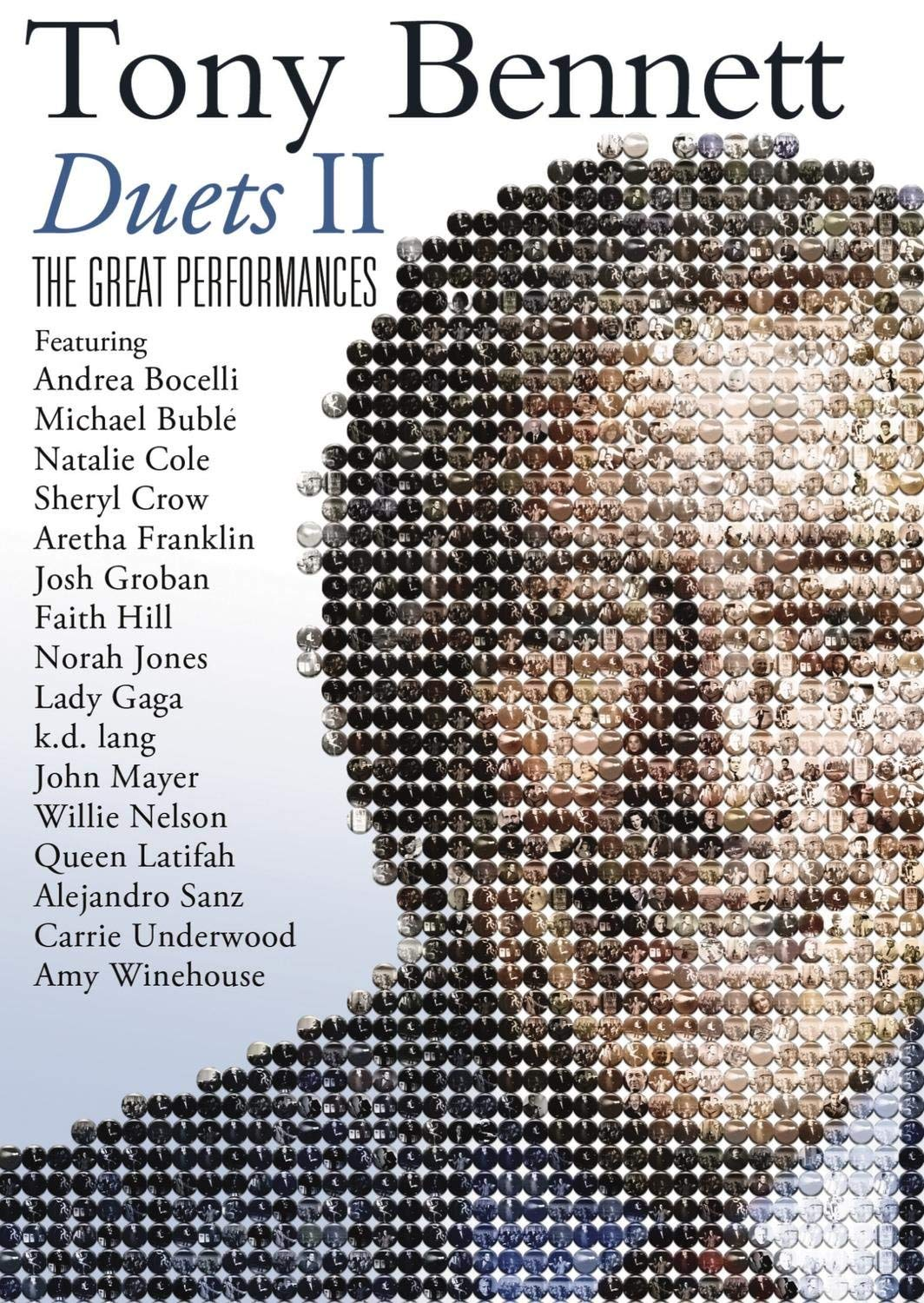 TONY BENNETT: DUETS II - THE GREAT PERFORMANCES (BLU-RAY)