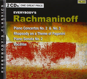 RACHMANINOFF: Everybody's Rachmaninoff - Piano Concertos 2&3; Vocalise; Rhapsody on a Theme of Paganini; Sonata No.2 (2 CDs)