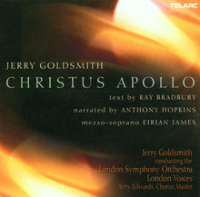 Load image into Gallery viewer, GOLDSMITH: CHRISTUS APOLLO - LONDON SYMPHONY ORCHESTRA, Narrated by Anthony Hopkins