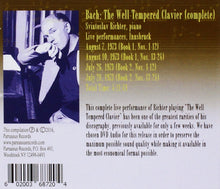 Load image into Gallery viewer, BACH, J.S.: 48 PRELUDES & FUGUES - LIVE IN INNSBRUCK 1973 - SVIATOSLAV RICHTER (DVD-AUDIO)