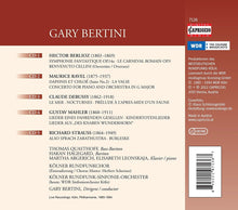 Load image into Gallery viewer, GARY BERTINI CONDUCTS RICHARD STRAUSS, MAHLER, RAVEL, BERLIOZ (5 CDS) - QUASTHOFF; ARGERICH; LEONSKAJA; KOLNER RUNDFUNK-SINFONIE-ORCHESTER; BERTINI