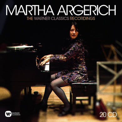 MARTHA ARGERICH: THE WARNER CLASSICS RECORDINGS (20 CD)
