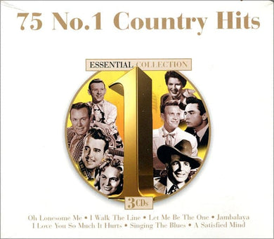 75 No.1 Country Hits (3 CDS)