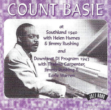 COUNT BASIE: Count Basie At Southland