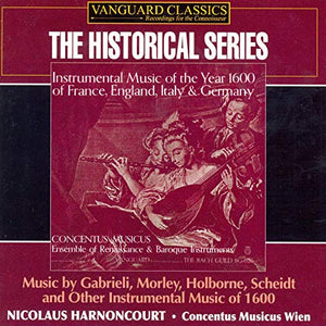 INSTRUMENTAL MUSIC FROM THE YEAR 1600 - CONCENTUS MUSICUS WIEN, HARNONCOURT