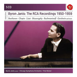 BYRON JANIS: THE RCA RECORDINGS 1950-1959 (5 CDS)