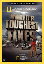 Load image into Gallery viewer, NATIONAL GEOGRAPHIC: WORLD'S TOUGHEST FIXES (3 DVDS)