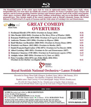 Load image into Gallery viewer, GREAT COMEDY OVERTURES (BLU-RAY AUDIO) - ROYAL SCOTTISH NATIONAL ORCHESTRA; FRIEDEL