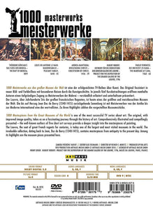 1000 MASTERWORKS: THE LOUVRE (DVD)